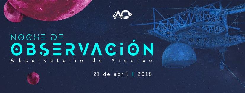 Noche de Observación - 04-21-2018