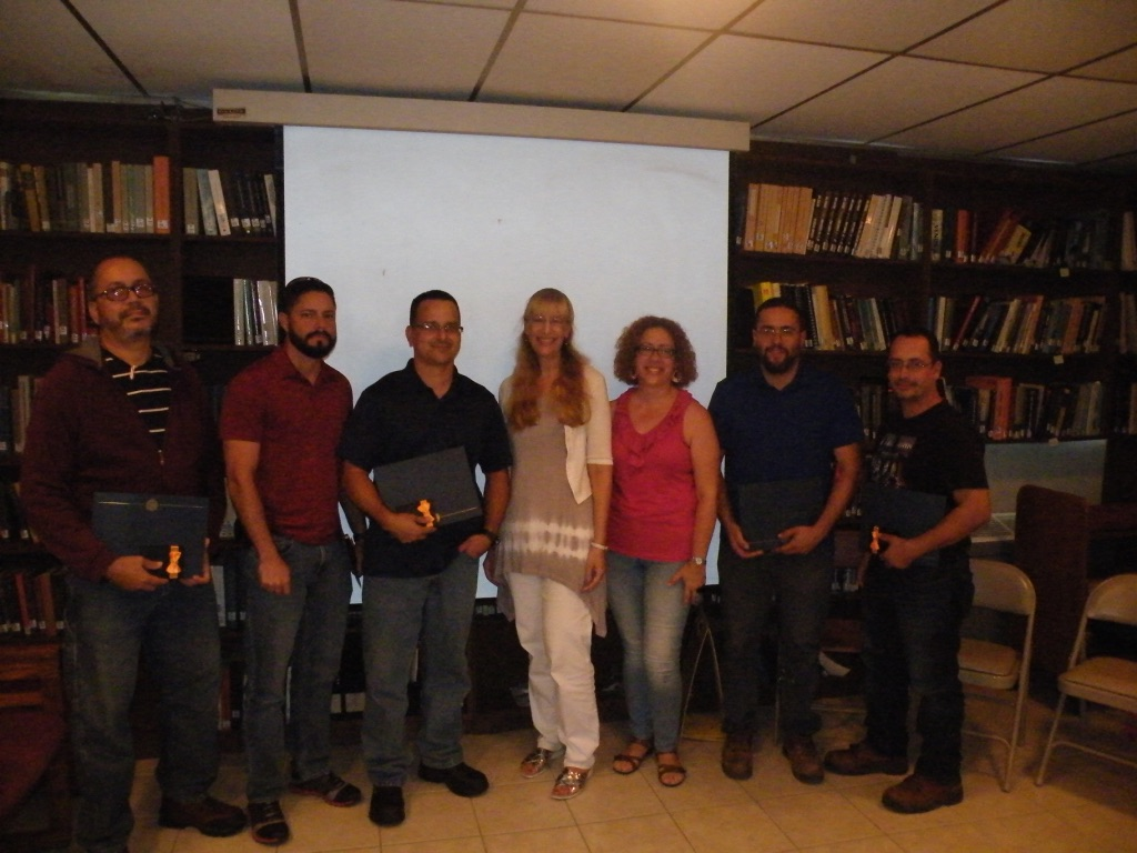 USRA Service Awards ceremony for Arecibo Staff (12-08-2017)