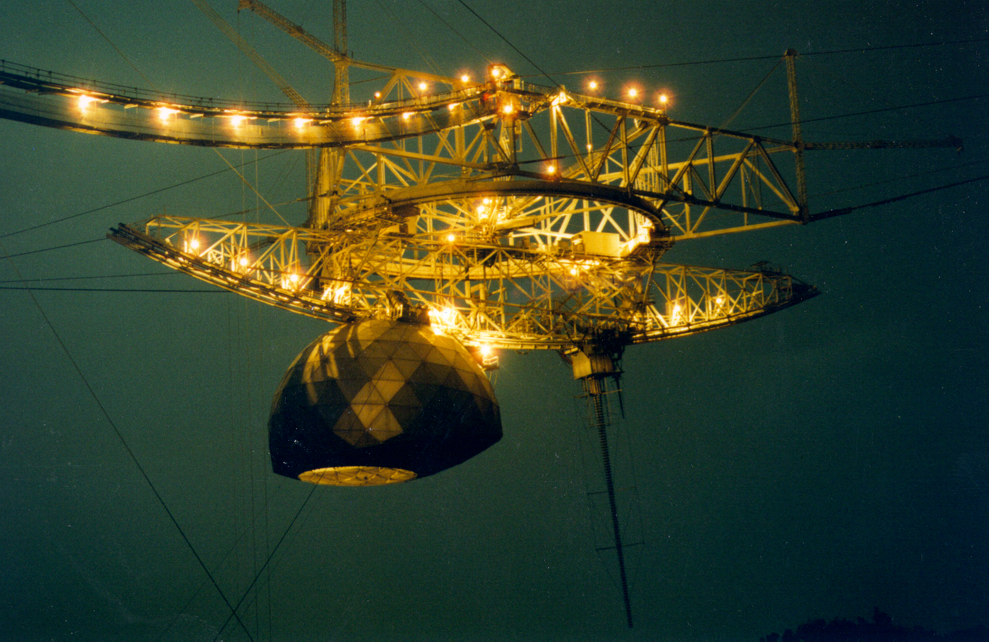 Night Time at Arecibo Observatory