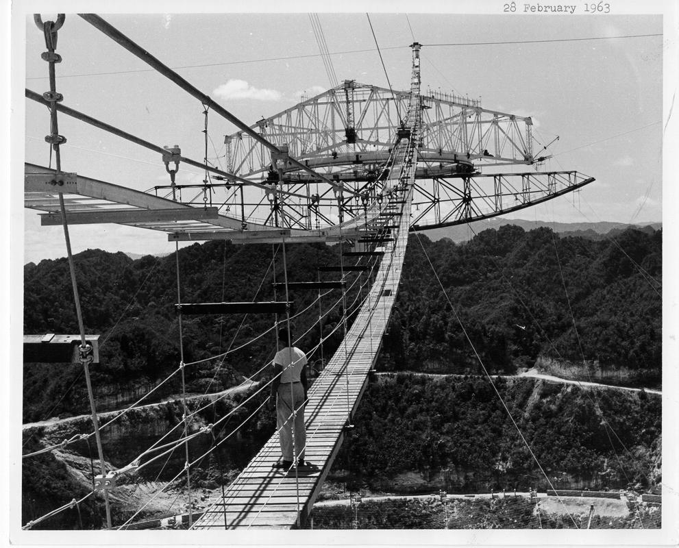 February 29, 1963 Catwalk Finished