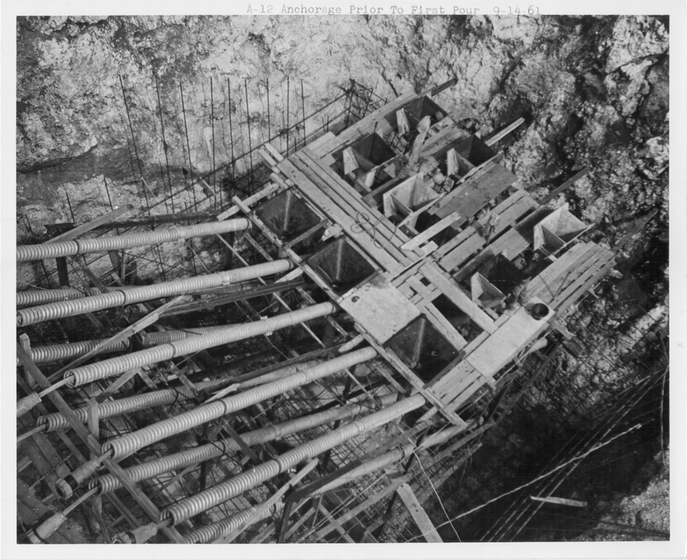 Sept 14, 1961 Tower Support Base